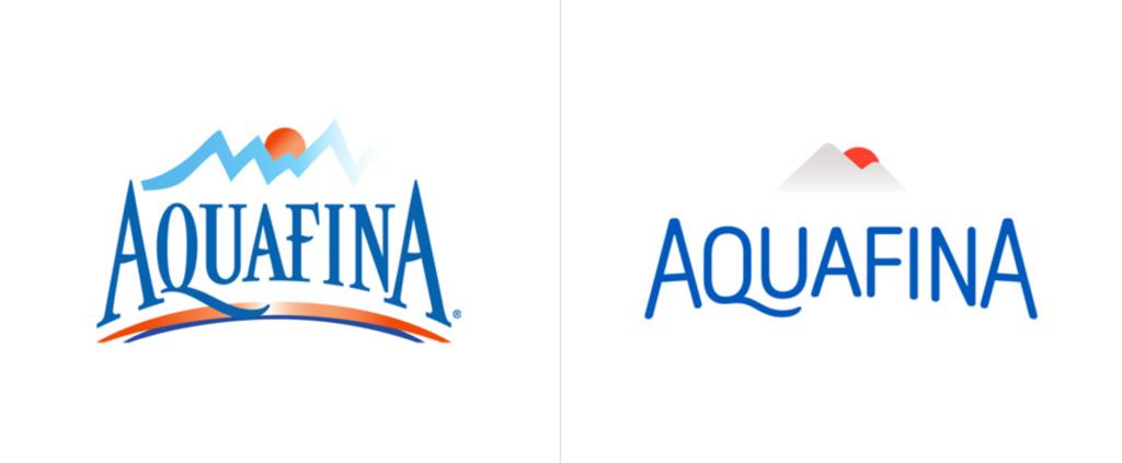 New Aquafina Logo