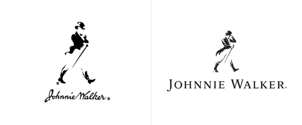 New Johnnie Walker Logo