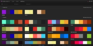 adobe color cc my themes