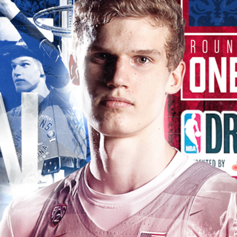 2017 Arizona Basketball NBA Draft Graphics