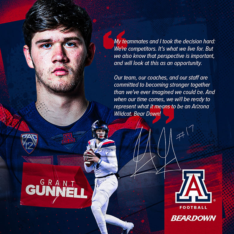 2020 Arizona Athletics Student-Athlete Quote Graphics