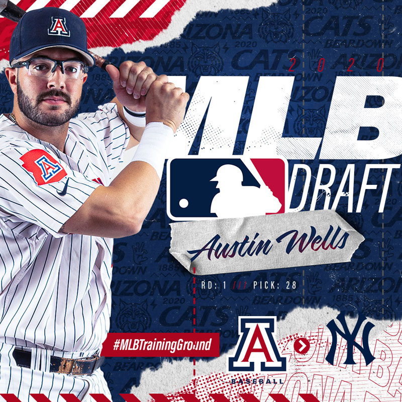 2020 Arizona Baseball MLB Draft Content